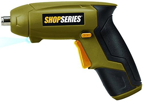 Rockwell SS2001 Screwdriver 3.6v Lithium with LED (Rockwell Cordless Screwdriver)