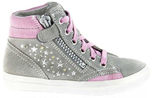 Richter 4449 141 Mädchen Sneakers Grau/Pink