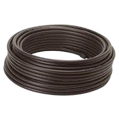 Rollo DE Cable DE Antena RG6 Cobre 25M Color Negro Cubierta PE