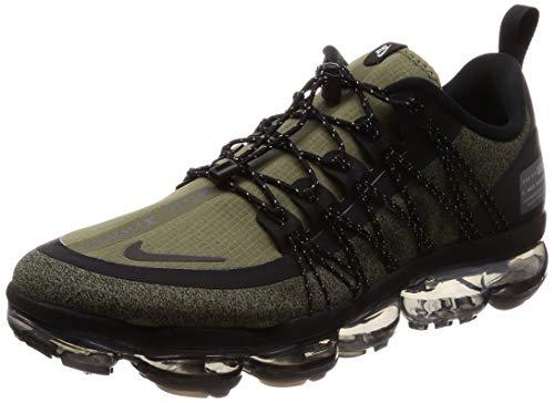 Nike Men's Air Vapormax Run Utility, Medium Olive/Reflect Silver, 10 M US