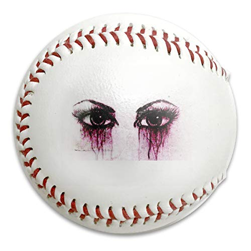 Wontun Crying Eyes Wallpaper Personalized Low Impact Safety Softball Baseball Training for Indoor and Outdoor Practice Competition