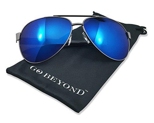 Polarized Fashion Mirrored Reflective Revo Color Sunglasses with UV - Goggles Reyban
