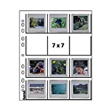 Hama Pro Archiv 12Pcs Clear Slide Sleeves 7x7 for Frames up to 3,2 mm