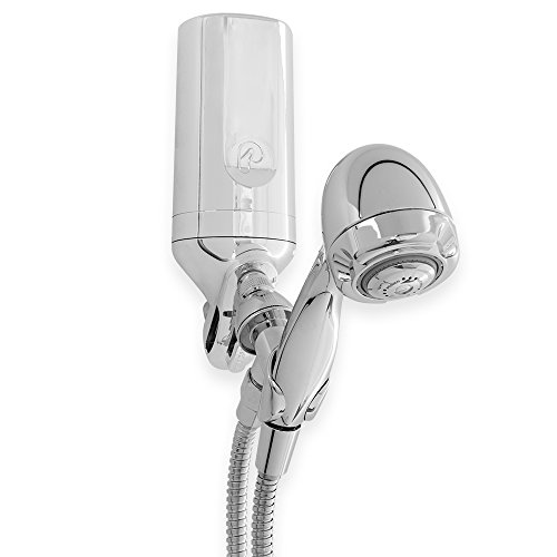 Pelican Water PSF-1WC 3-Stage Premium Shower Filter with 5'. Wand Combo