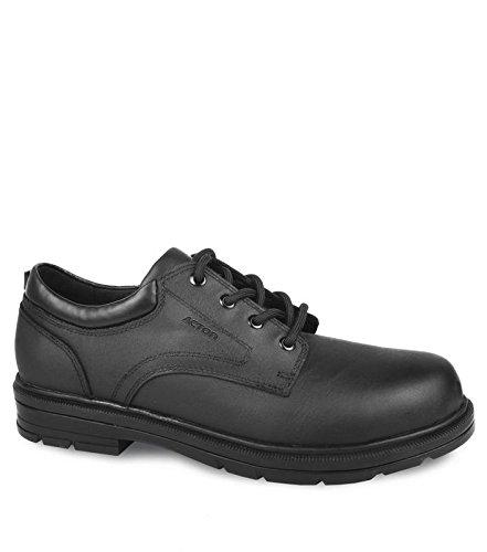 Acton Lincoln Men Work Shoes, Black, Size 8.5