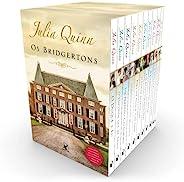 Box Os Bridgertons: 9 títulos da série + livro extra de crônicas + caderno de anotações