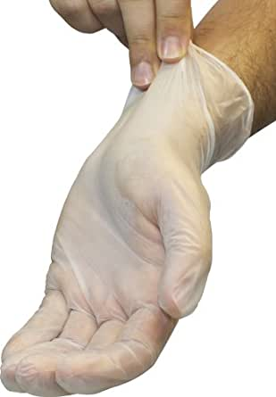 Disposable Vinyl Gloves Powder Free Clear Latex Free