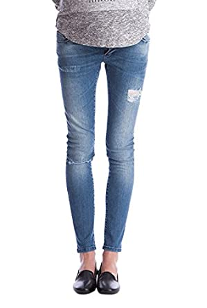 Seraphine Women's Gerie Ripped Skinny Jeans