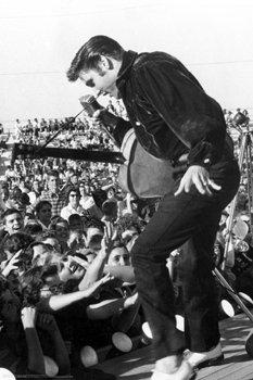 Elvis Presley Poster - Live In Concert Tupelo
