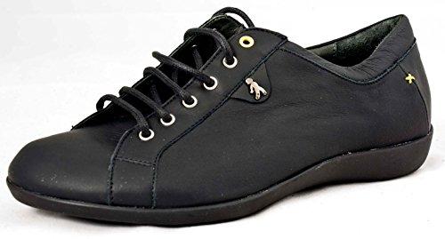 BENVADO , Chaussures de ville à lacets pour femme noir noir