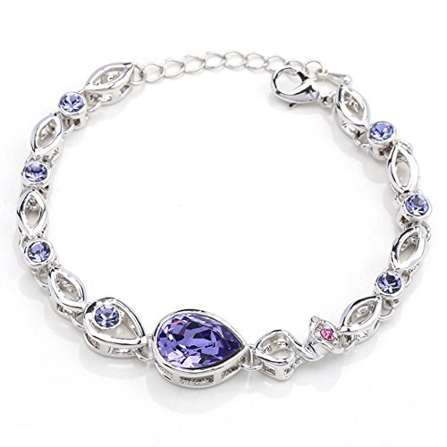 Price comparison product image BL-070336C2 Alloy Korean Version Star Inlaid Crystal Women's Bracelet