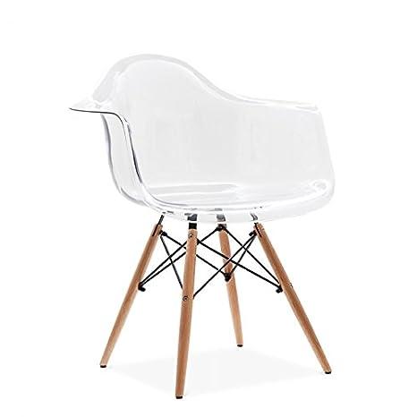 Sillón/silla con patas tipo Eiffel para comedor, oficina o ...