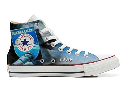 Converse All Star Customized - Zapatos Personalizados (Producto Artesano) Italian Soccer