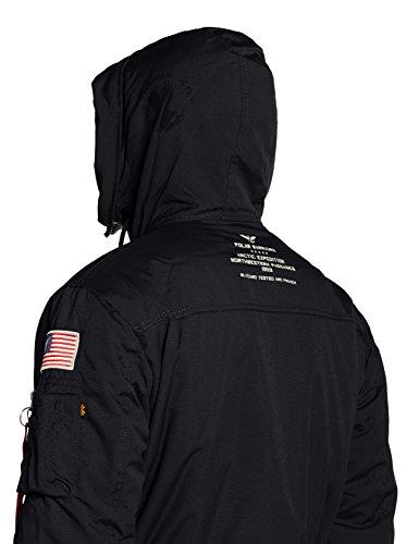 Polar Jacket Parka black Alpha Homme Noir a4SYxagq