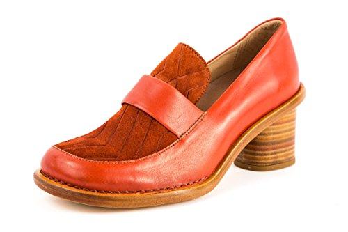 Neosens - Zapatos de vestir de Piel Lisa para mujer rojo rojo 37