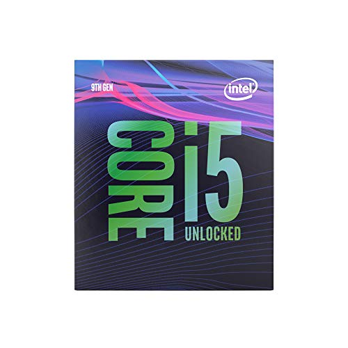 Intel Core i5-9600K Desktop Processor 6 Cores up to 4.6 GHz Turbo Unlocked LGA1151 300 Series 95W ()