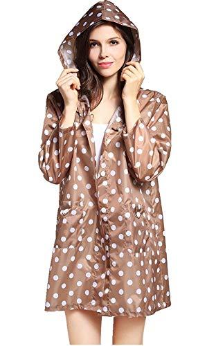 Chics Pointes Femmes À Imperméable Perméable Kaki Pluie Capuchon Capuche Avec Longues Vêtements Manteau Fonctionnelle Veste L'air De Très qxftw8C8