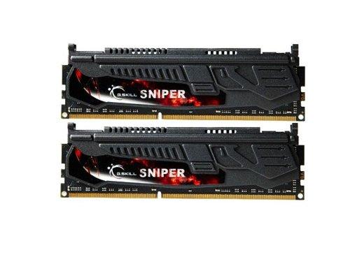 (G.Skill 16GB (2 x 8GB) DDR3 PC3-14900 1866MHz Sniper Series (9-10-9-28) Dual Channel kit (F3-1866C9D-16GSR))