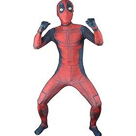 - 41ZUaI2Iy 2BL - JerriyCostumes Zentai Halloween Unisex Lycra Spandex Cosplay Costumes Kids 3D Style