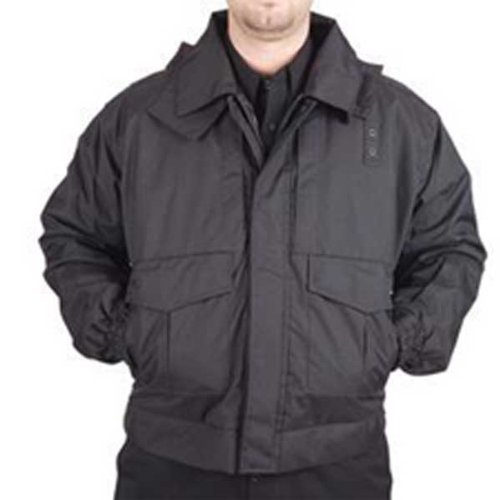 5.11 Tactical #48027 4-in-1 Patrol Jacket (Black, (5.11 Nylon Band)