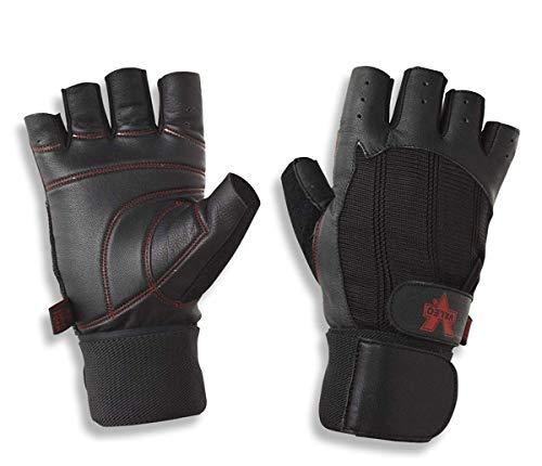Valeo Wrist Wrap Padded Ocelot Lifting Gloves,