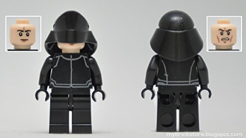 Star-Wars-El-Despertar-de-la-Fuerza-Captain-Phasma-R2-D2-First-Order-Stormtrooper-Kylo-Ren-TIE-Fighter-Pilots-First-Order-Officer-and-a-First-Order-Crew-Juegos-de-construccin-8-pieza
