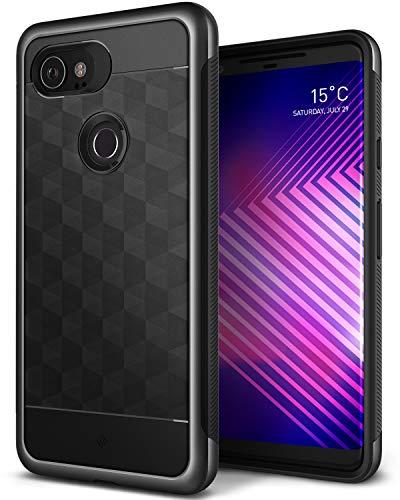 Caseology [Parallax Series] Google Pixel 2 XL Case - [Award Winning Design] - Black