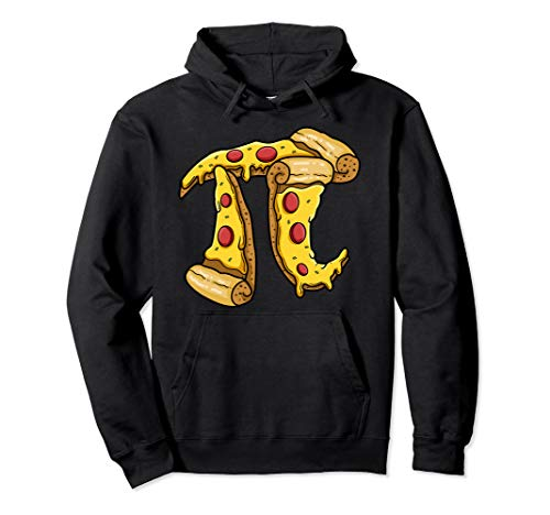 (Pi Day Hoodie kids Pizza Pi Funny Math Food 3.14 Distressed)