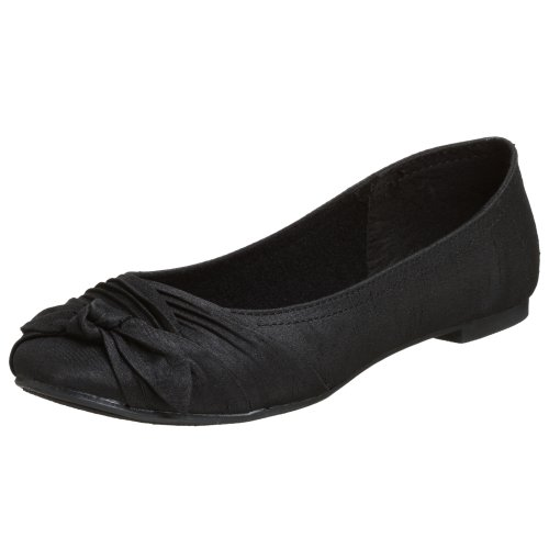 Rocket Dog Women's Memories Ballet Flat,Black,8 M US (Womens Flat Dress Shoes)