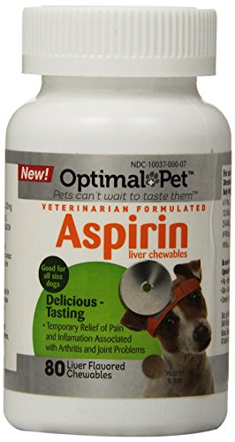 Optimal Pet 80 Count Adult Dog 120mg Aspirin Chewables ()