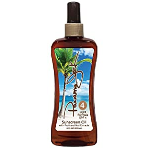 Panama Jack Sunscreen Tanning Oil SPF 4
