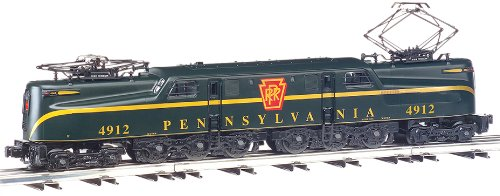 - Bachmann Industries GG1 Electric DCC Ready PRR Brunswick Green Single Stripe #4912 HO Scale Train Car
