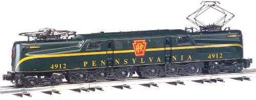Pennsylvania Locomotive 1 Gg (Bachmann Industries GG1 Electric DCC Ready PRR Brunswick Green Single Stripe #4912 HO Scale Train Car)
