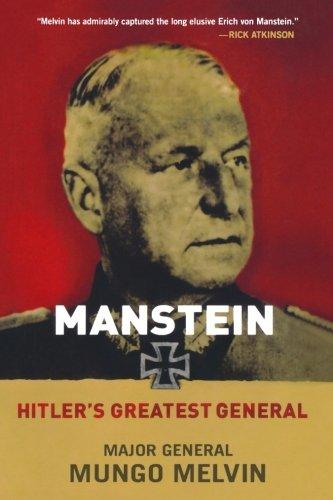 Manstein: Hitler's Greatest General pdf