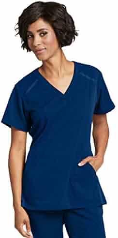 0ead88cd362 Grey's Anatomy Impact 7188 Women's Modern Fit 3-Pocket Crossover V-Neck  Elevate Scrub
