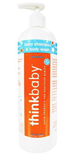 1 Vial 30c - thinkbaby Shampoo and Body Wash, 16 Ounce