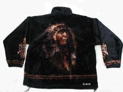 indianer fleece jacke