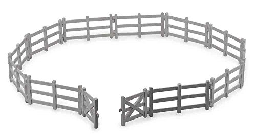 (Collecta Corral Fence with Gate Vinyl Toy Fencing)