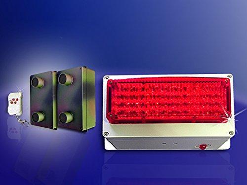 vecino freundliche sirena FAS de funcionamiento con batería, 06/con 2 x DSP - Detector de movimiento de barrera de luz, camuflaje: Amazon.es: Electrónica