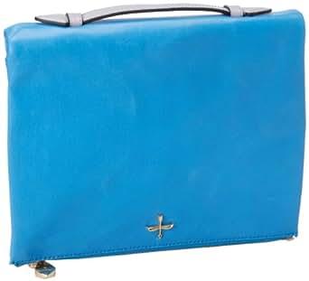 Pour La Victoire Yves PLHB1278 Clutch,Blue,One Size