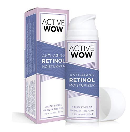 Active Wow Anti Aging Retinol 2.5% Moisturizing Cream (Active Moisturizing Cream)