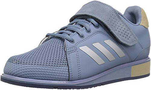 adidas Men's Power Perfect III. Cross Trainer Chalk ash Pearl, 5 M US