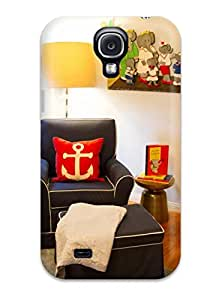 New Arrival Galaxy Premium Galaxy S4 Case Nursery Chair In Nautical Theme With Anchor Pillow