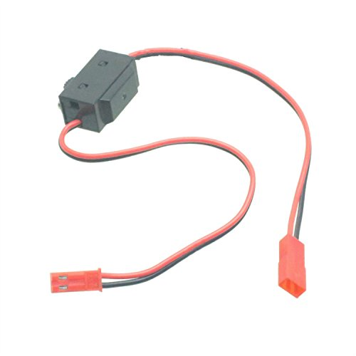 RC Model Receiver On Off Battery Switch JST / BEC Plug Male / Female Quadcopter Plane Truck (Bec Plug)