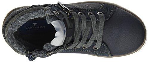 TOM TAILOR Jungen 3770703 Stiefel Blau (Navy)