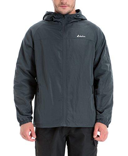 合成列車勤勉なClothin(クロズイン) ウィンドブレーカー 登山ジャケット ライダー ブルゾン 撥水 防風 防寒 アウター メンズ 13009