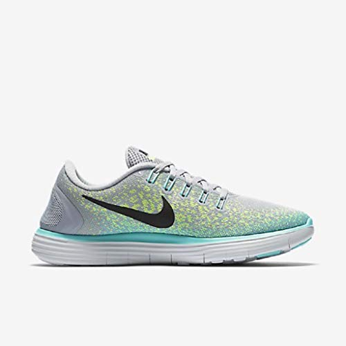 the latest 4166d 11c9d Galleon - Nike Womens Free Rn Distance Running Shoe,Wolf Grey Volt Hyper  Turquoise Black,6 B(M)