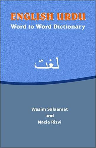 English urdu dictionary translation vocabulary words with p.