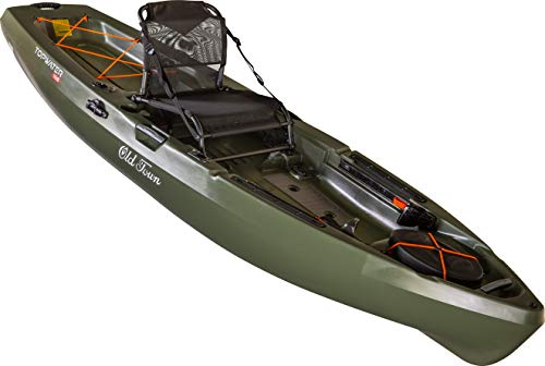 Old Town Topwater 106 Angler Fishing Kayak (Olive, 10 Feet 6 Inches)