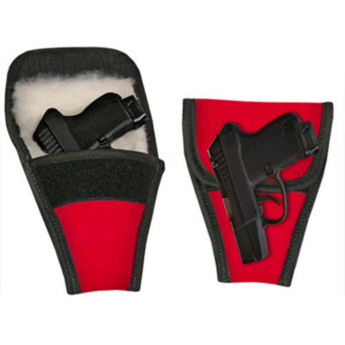 Concealed Carry Removable Purse Holster (Red Lipstick) (Case Gun Removable)